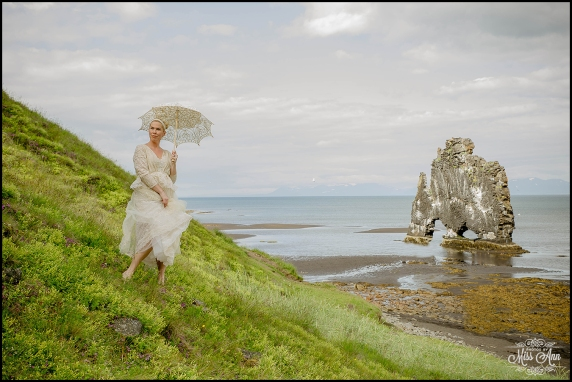 Hvitserkur Sea Arch Iceland Wedding Photographer