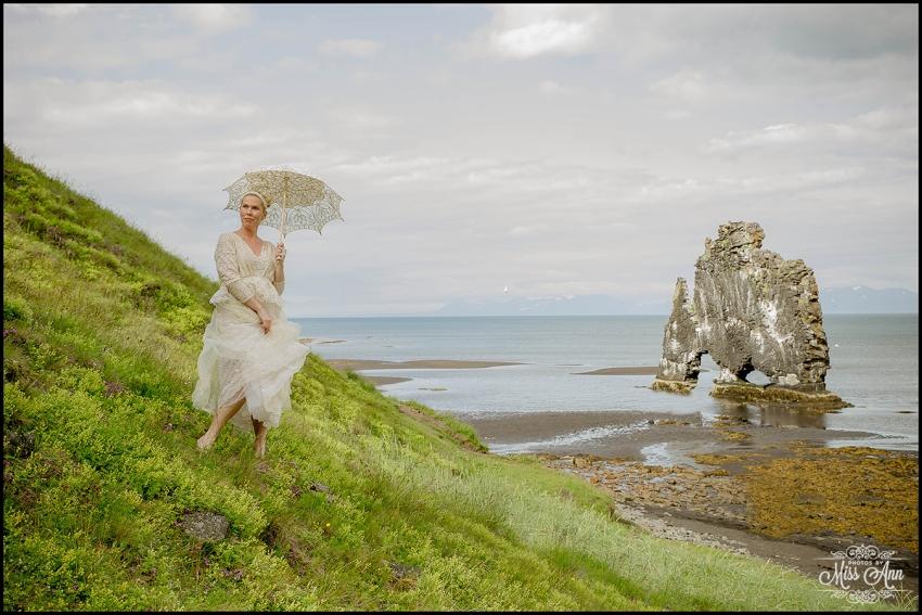 Hvitserkur Sea Arch Iceland Wedding Photographer
