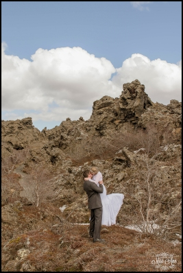 Iceland Wedding Photographer Dimmuborgir Lava Fields-12