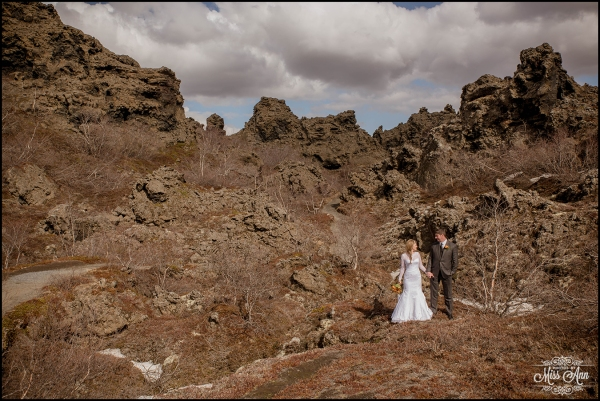 Iceland Wedding Photographer Dimmuborgir Lava Fields-13