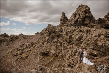 Iceland Wedding Photographer Dimmuborgir Lava Fields