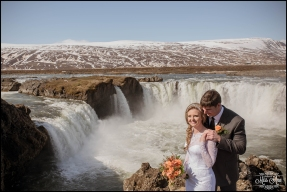Iceland Wedding Photographer Godafoss Waterfall-1