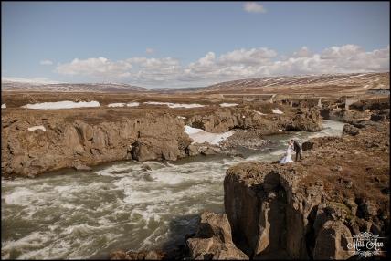 Iceland Wedding Photographer Godafoss Waterfall-17