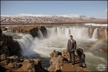 Iceland Wedding Photographer Godafoss Waterfall-4
