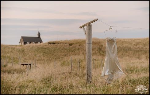Iceland Wedding Dress Hotel Budir Wedding