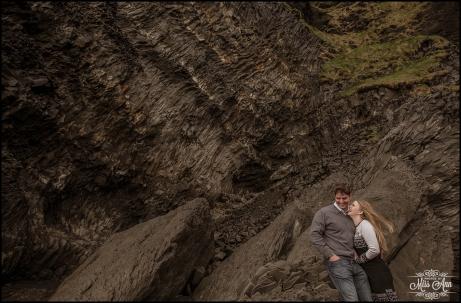 Reynisfjara Cave Iceand Wedding