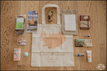 Iceland Destination Wedding Welcome Bag Inclusions