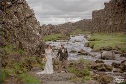 Iceland Wedding Oxarafoss Waterfall-2