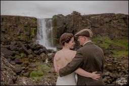 Iceland Wedding Oxarafoss Waterfall-6