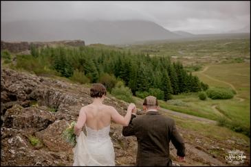 Iceland Wedding Oxarafoss Waterfall-7
