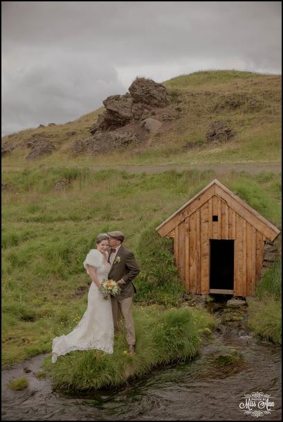 Sod Farm Wedding in Iceland