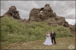 Iceland Lava Field Wedding Photographer