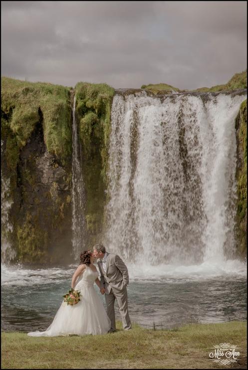 Iceland Secret Waterfall Wedding-1