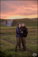 Iceland Waterfall Wedding Engagement Session