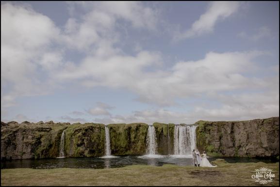 Iceland Waterfall Wedding Secret