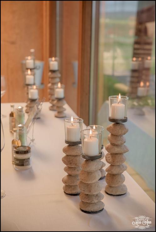 Iceland Wedding Centerpieces Hotel Ranga Elopement