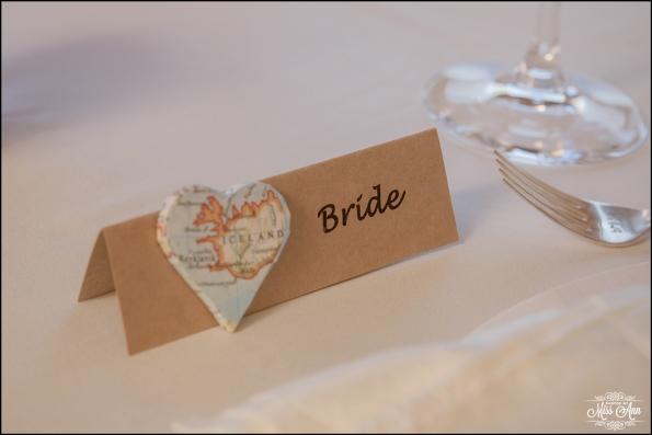 Iceland Wedding Placecards
