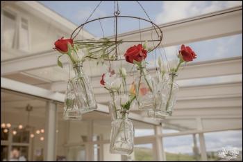 Iceland Wedding Reception Centerpieves