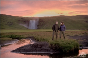 Skogafoss Waterfall Wedding Iceland