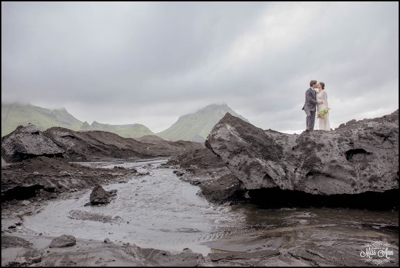 Iceland Glacier Wedding-9