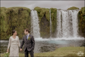 Iceland Waterfall Wedding Photographer-1