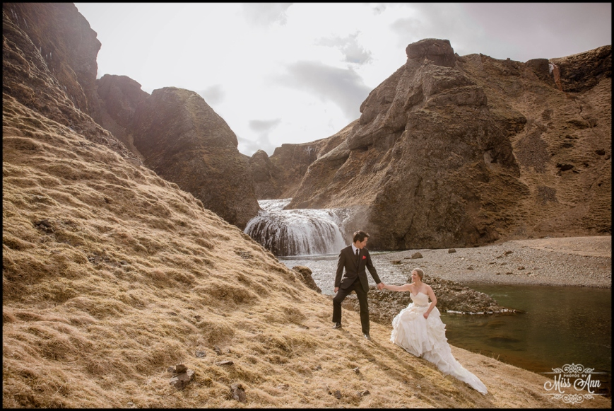Unique Private Waterfall Weddings Iceland