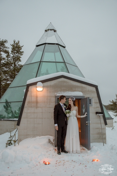 Finland Destination Wedding Igloo Hotel Photos by Miss Ann-31