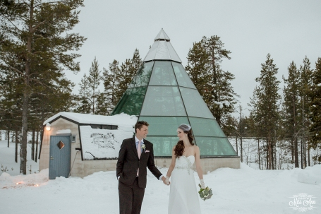 Finland Destination Wedding Igloo Hotel Photos by Miss Ann-33
