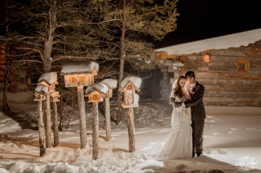 Igloo Ice Hotel Wedding Photos