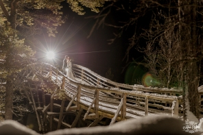 Lapland Winter Wedding Photos