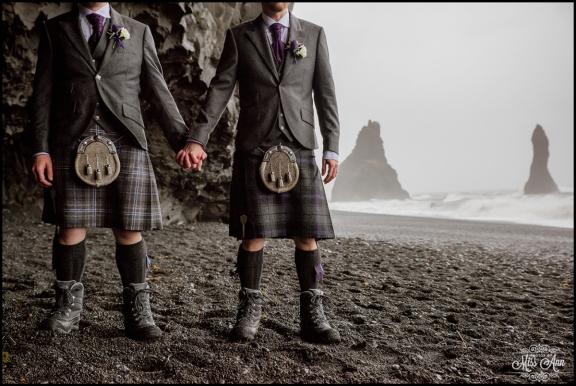Iceland Wedding Photographer Photos by Miss Ann Iceland Cave Wedding-8
