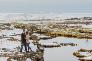 Romantic Icelandic Elopement - Photos by Miss Ann