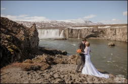 Iceland Wedding Kiss - Photos by Miss Ann