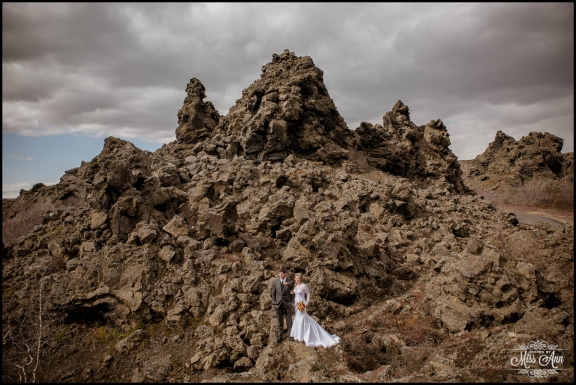 Iceland Wedding Lava Fields - Iceland Wedding Photographer