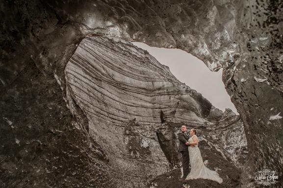 Iceland Ice Cave Wedding-3