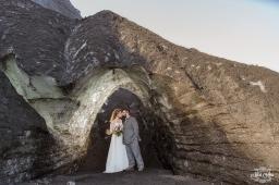 Iceland Ice Cave Wedding