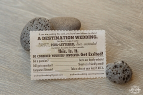 Iceland Wedding Invites