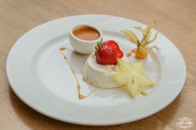 Iceland Wedding Reception Food - Skyr Cake