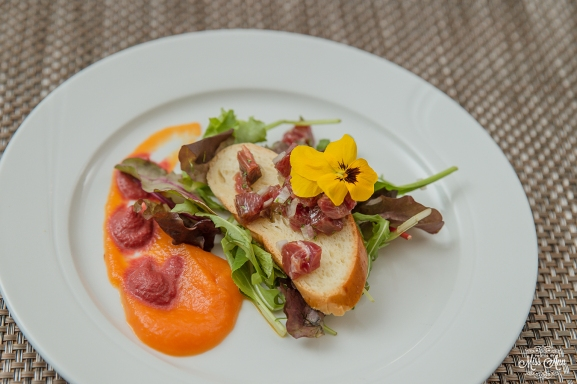 Iceland Wedding Reception Food - Smoked Lamb