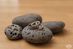 Iceland Wedding Rings on Balsalt Rocks