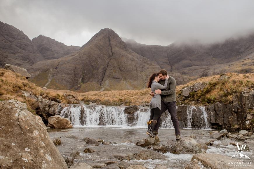 Fairy Pools Isle of Skye Engagement Wedding Photographer - Your Adventure Wedding