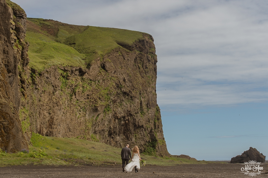 Iceland Mountain Wedding - Photos by Miss Ann