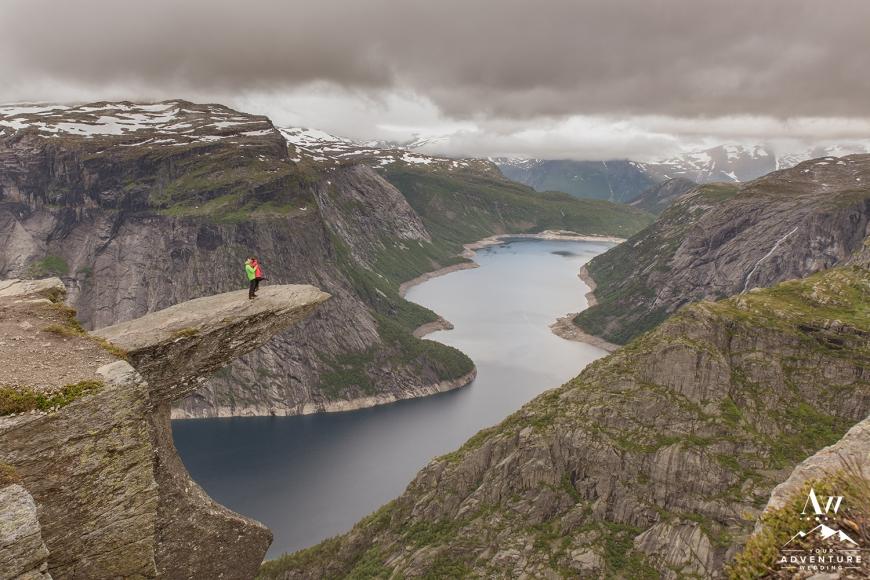 Norway Wedding Adventure Planner and Photographer - Trolltunga wedding