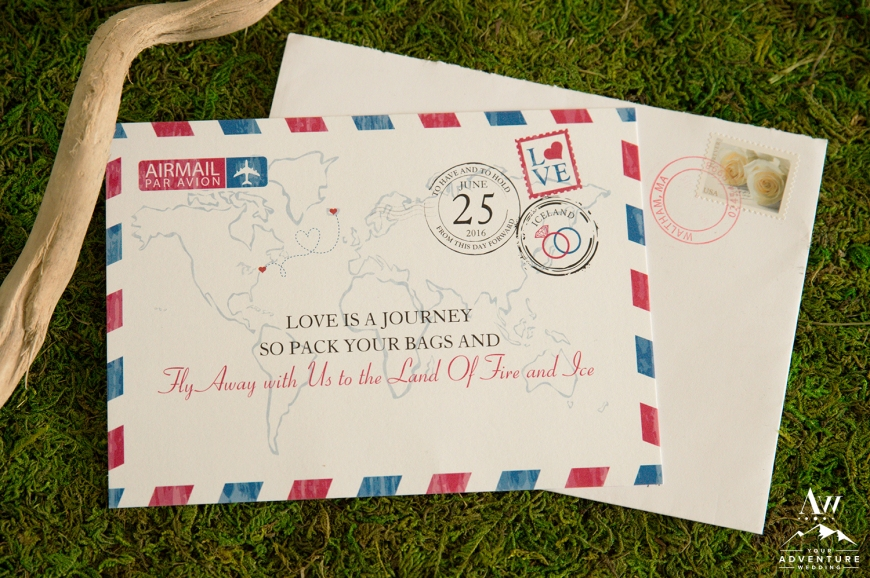 Iceland Destination Wedding Invitation