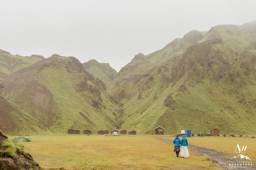 Iceland Rainy Destination Wedding