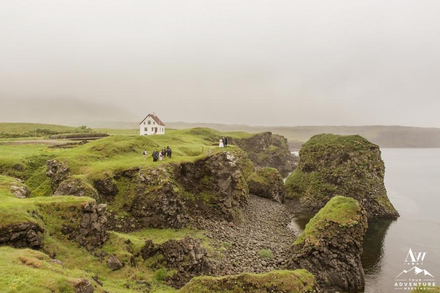 Iceland Wedding - Arnarstapi