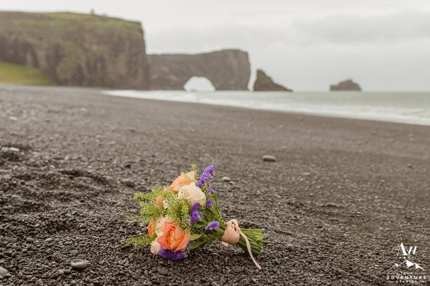 Iceland Wedding Bouquet Flowers