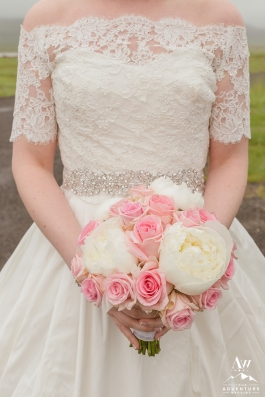 Iceland Wedding Bridal Bouquet - Iceland Wedding Planner