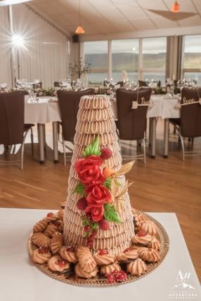 Iceland Wedding Cake