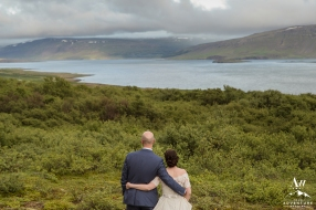 Iceland Wedding Photos Fjords